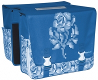 Double Bag Pixel von Fast Rider in blau