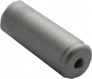 6 schwarze Erdmann Kunstoff Endkappen für 5 mm Bowdenzughüllen XL Verlängerung