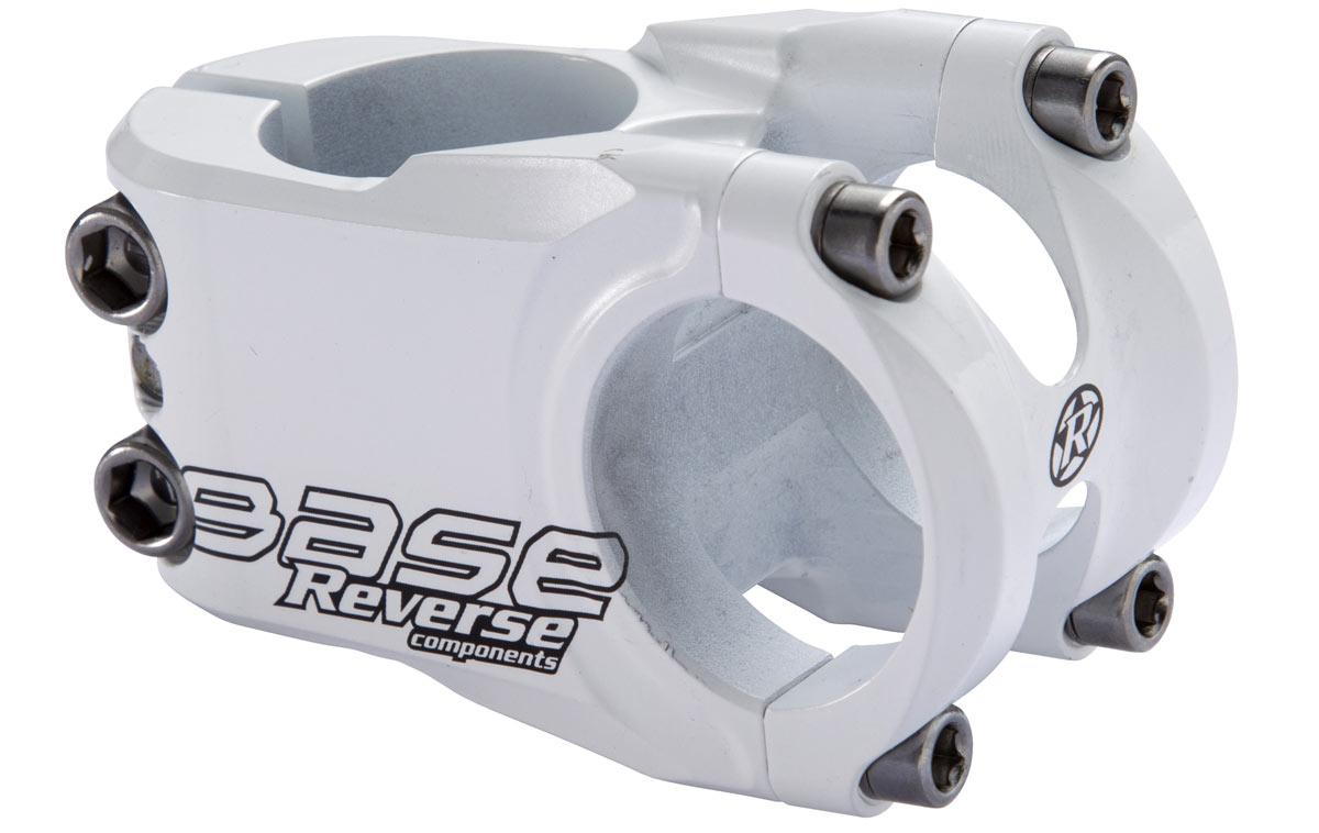 """Vorbau Reverse /""""Base/"""" in weiß für 1,25 Zoll Gabeln für Giant Bikes"""