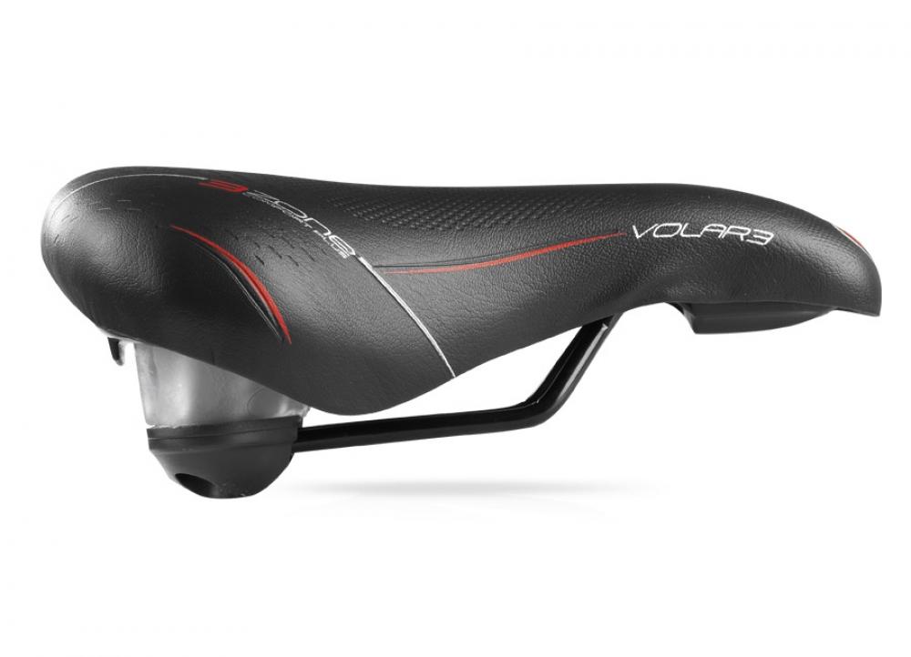 Selle Bassano Volare Größe XL Comfort Plus schwarz Sättel Radsport
