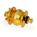 Nabendynamo Shutter Precision PD-8 Disc Brake gold 32 Loch